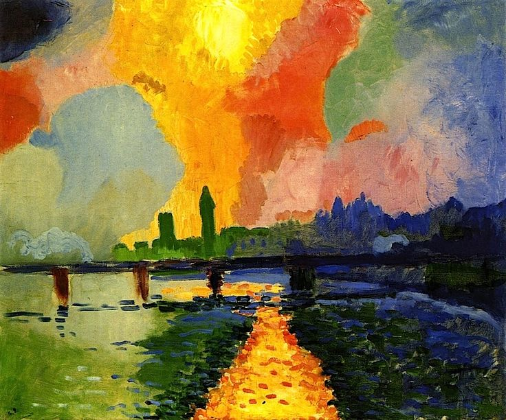 """Charing Cross Bridge"" by Andre Derain, 1906"