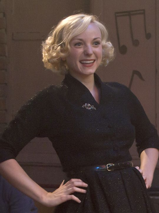 Trixie from Call the Midwife. Helen George is beautiful.