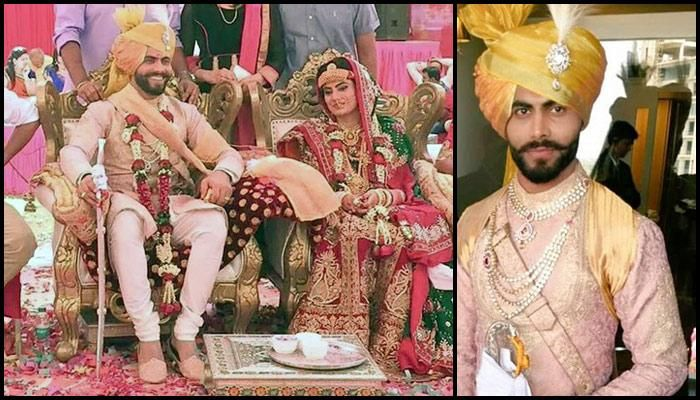 The Complete Wedding Album Of Star Indian Cricketer Sir Ravindra Jadeja And Rivaba Solanki