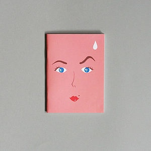 Faces notebook by Our Workshop