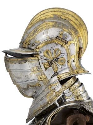 Field armour of William Somerset, 3rd Earl of Worcester. English, Greenwich, about 1550.