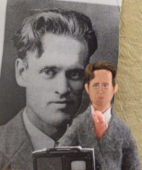 Philo Farnsworth Television Inventor Doll Miniature Greatest