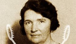 Portrait of Margaret Sanger, advocate of birth control & a eugenicist