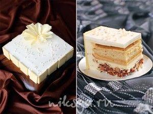 самый дорогой австралийский торт - 12-слойный ванильный торт из стручков ванили, сливок и белого шоколада.