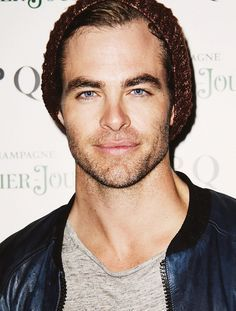Chris Pine, is one sexy beast! He does have a nice behind that you can bounce a quarter off of!