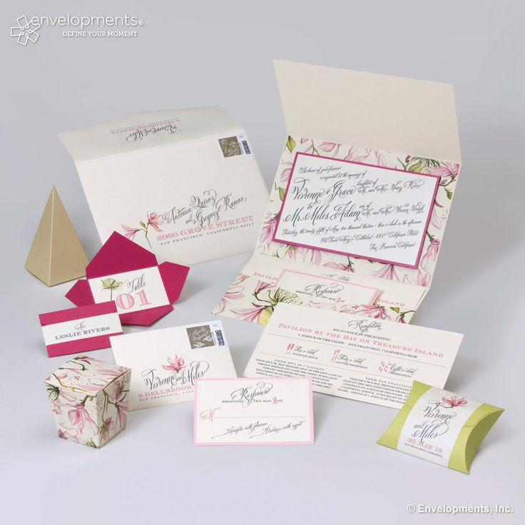 how to make film canister wedding invitations%0A Vintage Botanical Wedding Invitation Pink Wedding by SuitePaper