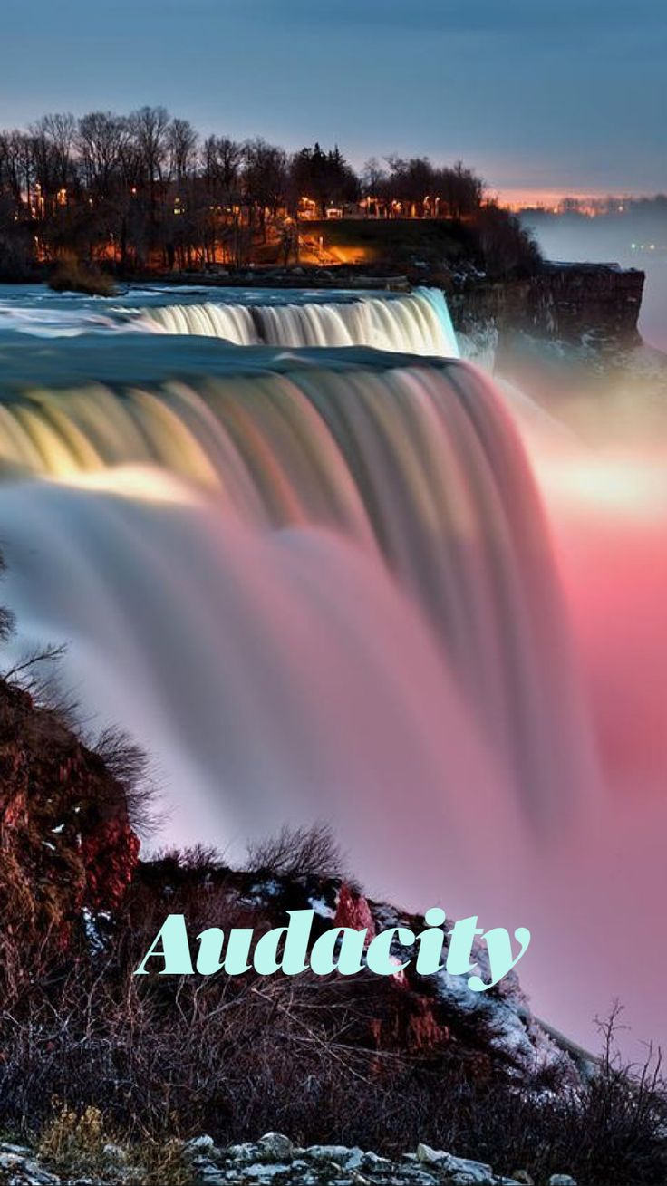 Beautiful Waterfalls, Beautiful Landscapes, Famous Waterfalls, Beautiful Scenery, Natural Waterfalls, Beautiful Things, Niagara Falls New York, New York State Parks, Autumn In New York