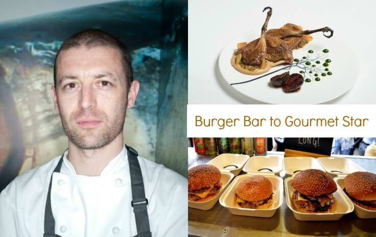 Chef Tony Fleming to star in Burger Bar to Gourmet Star