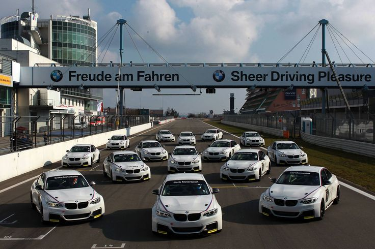 BMW M235i Racing at the Nürburgring handed over to 15 VLN teams - http://www.bmwblog.com/2014/03/26/bmw-m235i-racing-nurburgring-handed-15-vln-teams/