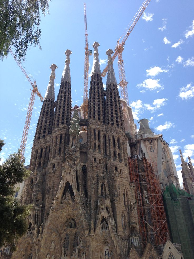 Barcelona Spain The beautiful and majestic catedral