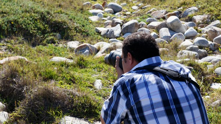 Man With Camara  Skoenmakerskop is a small village in Nelson Mandela Bay, southwest of the promontory on which Port Elizabeth stands, 8 km west of Chelsea Point.