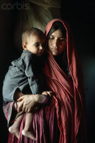 Travel Asian people Afghanistan Afghan Mother and Child