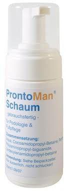 #ProntoMan voetverzorgend #schuim is een gebruiksklaar schuim voor de dagelijkse verzorging van de belaste en zeer gevoelige huid. Door gebruik van het schuim wordt de #huid beschermd tegen uitdroging, infecties en irritaties.Voor meer informatie over ProntoMan kunt u een bezoekje nemen aan onze website #pedicuregroothandel.nl.