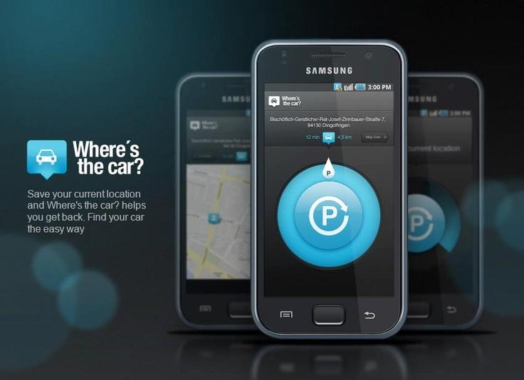 Whre´s the car? app-design