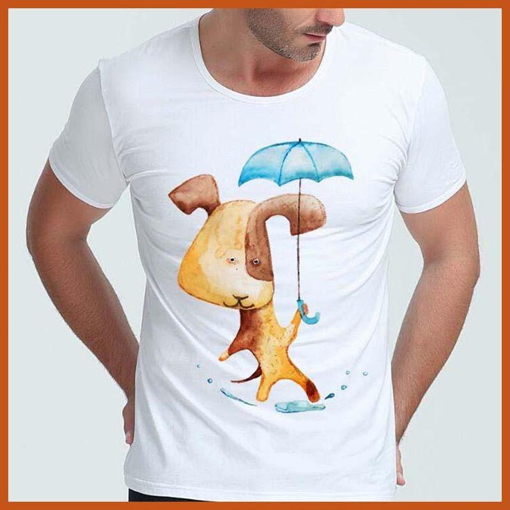 2017 Men's Fashion Short Sleeve O Neck Steampunk Pug Printed T-shirts Funny Tee Shirts Hipster Brand Tops