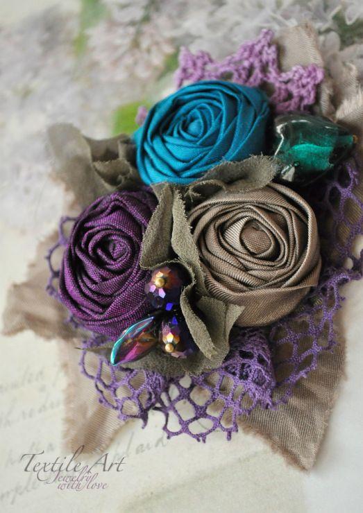 Gallery.ru / Фото #32 - Текстильные украшения 2015-2016. Мои работы. - Shellen