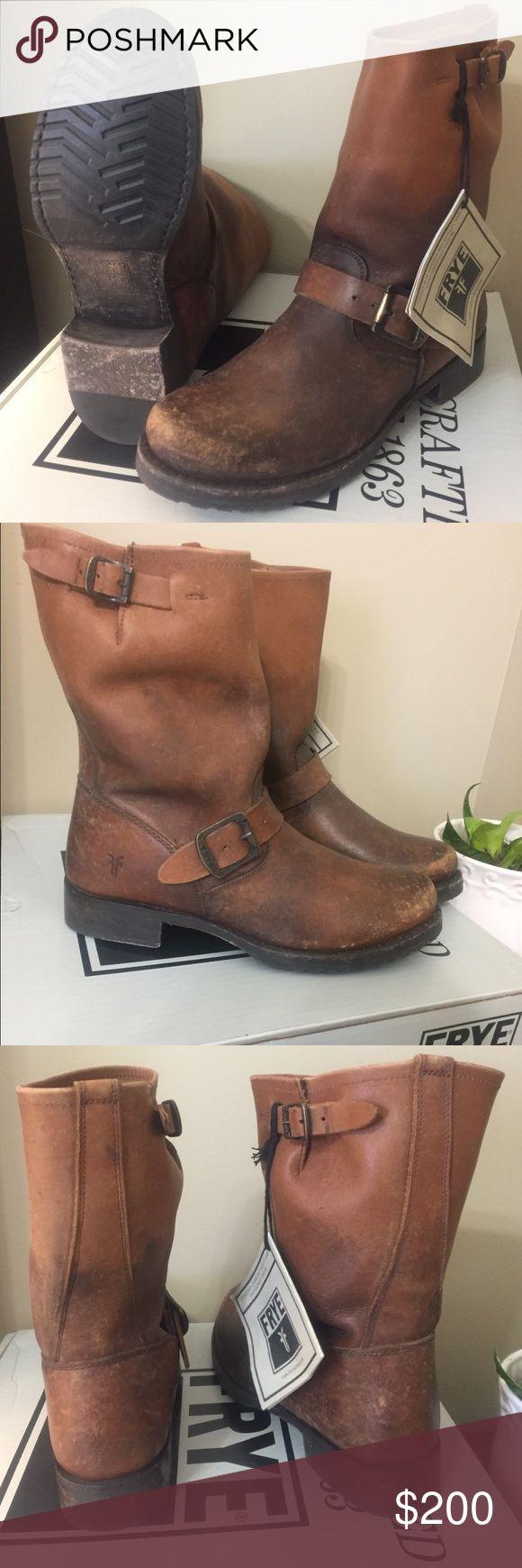 NWT Frye Veronica Short Cognac 8.5 NWT Frye boots. Frye Shoes