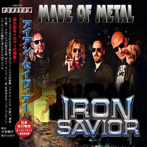 Iron Savior - Made of Metal (2017) (Compilation)