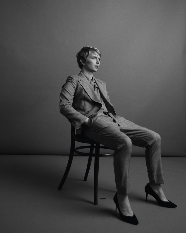 Chelsea Manning by Inez and Vinoodh for The New York Times