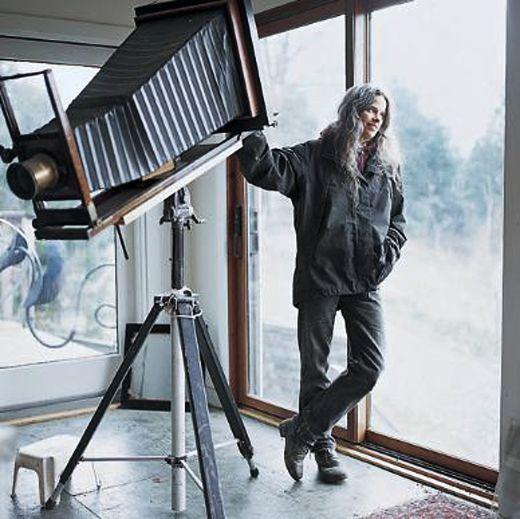 Sally Mann large format camera
