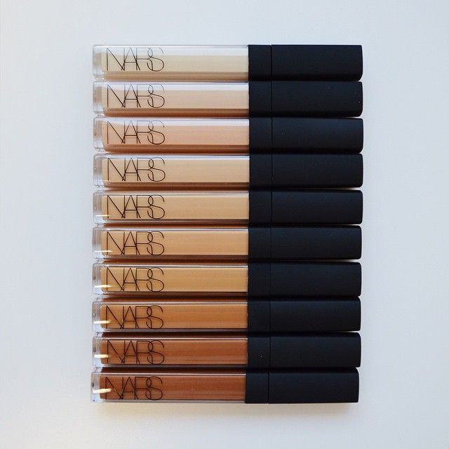 NARS radiant creamy concealers in all shades. I love the consistency of these, although the Maybelline Fit Me concealers are a near-perfect dupe! #NARS #makeup #concealer