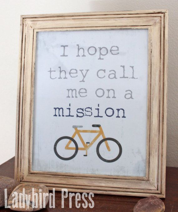 I Hope They Call Me on a Mission - LDS - Printable Art @ Etsy