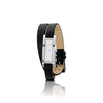 Pandora Black Crown Diamond Watches now available!! Shown here: Imagine - 811010WH