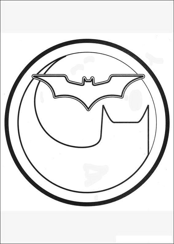 Rounded Batman Logo Coloring Page Batman Coloring Pages Superhero Coloring Cartoon Coloring Pages
