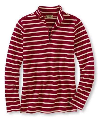 $34.95 French Sailor's Shirts, Quarter-Zip Pullover: Tees and Knit Tops | Free Shipping at L.L.Bean