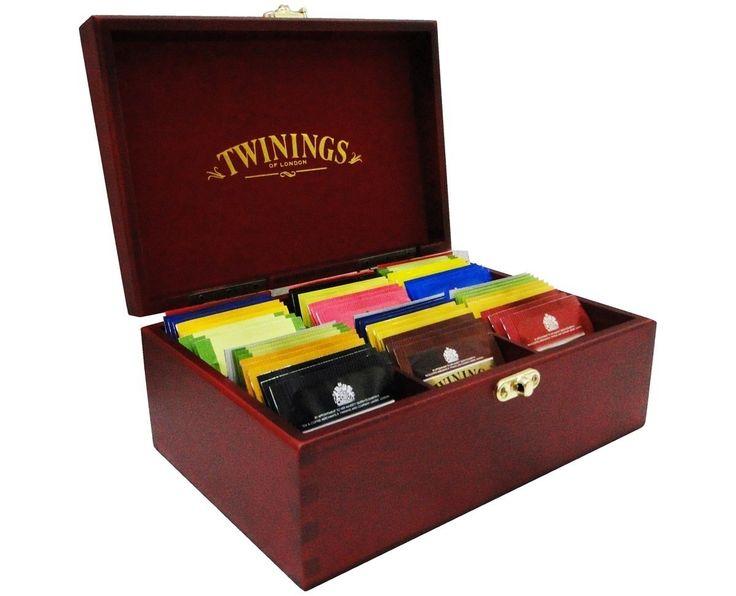 chá twinings caixa de chás - coleção original com 60 sachês