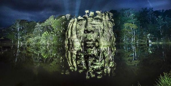Street art no coração da Amazônia para proteger os povos e a floresta (FOTOS E VÍDEO)