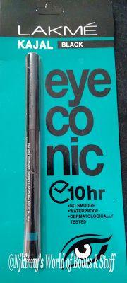 #ProductReview Lakme Eyeconic Kajal (Black) Read my #Review of Lakme Eyeconic Kajal on my blog and checkout my views on it. :)  http://www.njkinnysblog.com/2015/08/product-review-lakme-eyeconic-kajal.html  #EyeMakeup #Kajal #BeautyAndFashionCorner