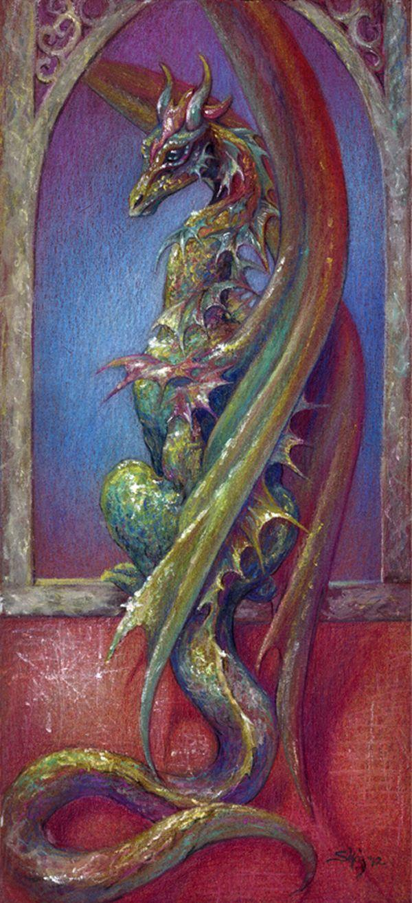 Dragon Empress by *goldenSalamander