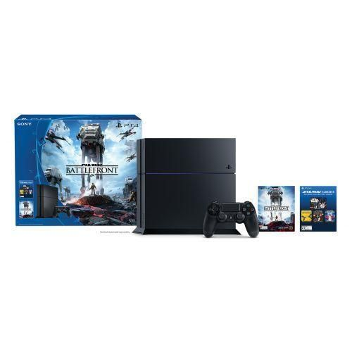 Sony PlayStation 4 Star Wars Battlefront Bundle (Includes Game Voucher) #Sony