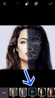 Edit Foto Face Polygon PicsArt Android