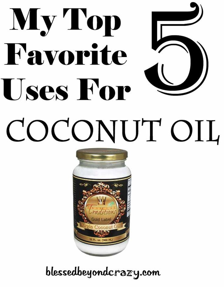 My 5 Favorite Uses for Coconut Oil - from cosmetics to cooking, this stuff is amazing!  Blessed Beyond Crazy