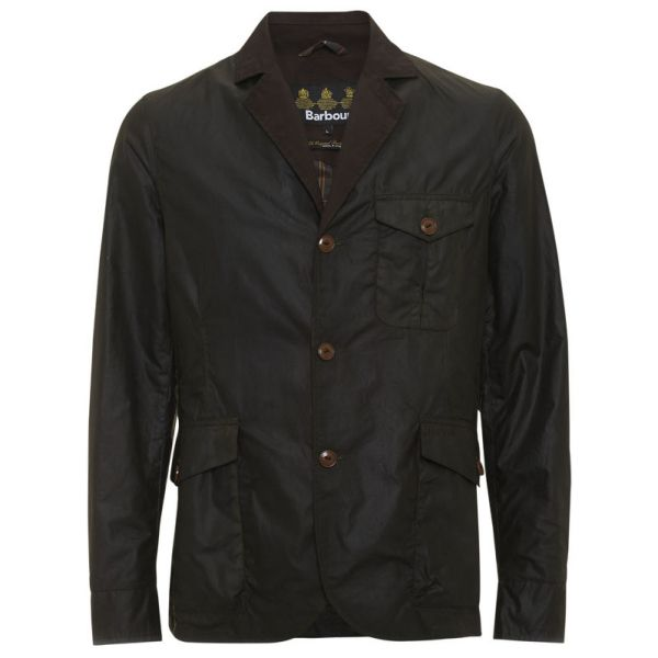 Barbour Stanley Wax Jacket   Barbour Wax Jackets Mens - love a waxed blazer, they're so unique and a refreshing change from the usual wax jackets