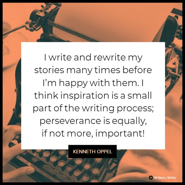 Quotable – Kenneth Oppel - Writers Write