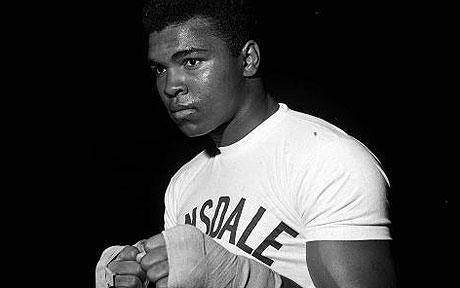 Muhammad Ali (born Cassius Marcellus Clay, Jr.; January 17, 1942) http://muhammadalipage.com/muhammad-ali-vs-rocky-marciano/