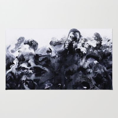 Society6.com Rug: 4'x6' is $79. A little too small for sunroom?