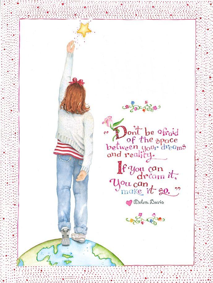 Artwork by Susan Branch - Wonderful words by Belva Davis