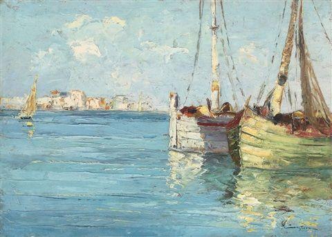 Bărci la Veneţia - Constantin (Constion) Ionescu