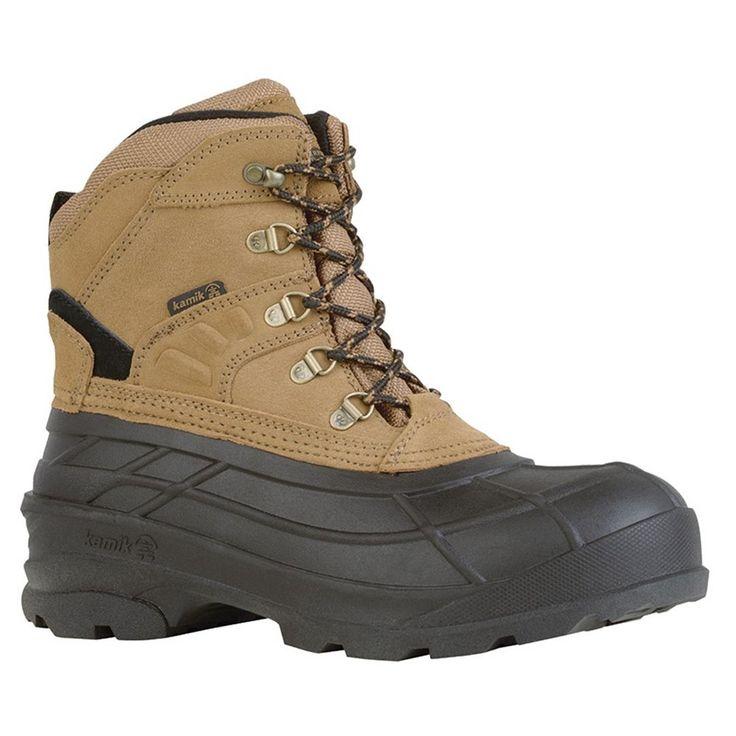 Kamik Fargo Tan 2 Mens Cold Weather Boots