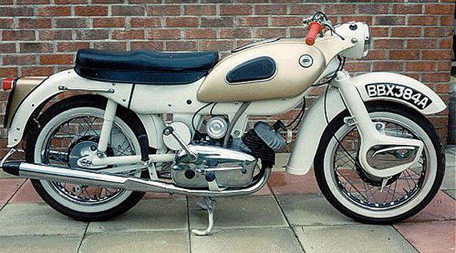 Ariel Arrow | The Ariel Arrow 250cc Two Stroke Twin of 1960