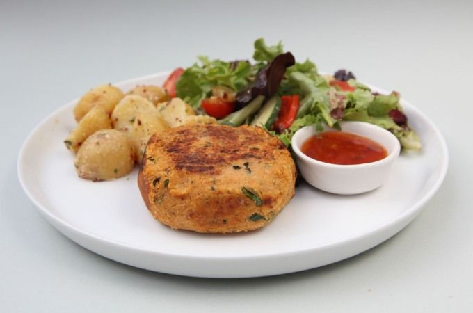 Try my delicious CHICKPEA PATTIES from book 6. A delicious meat-free meal the whole family will enjoy!