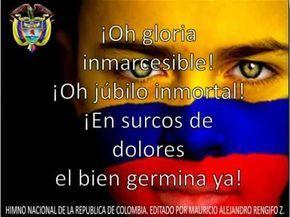 ▶ HIMNO NACIONAL DE COLOMBIA (letra y Música) - YouTube