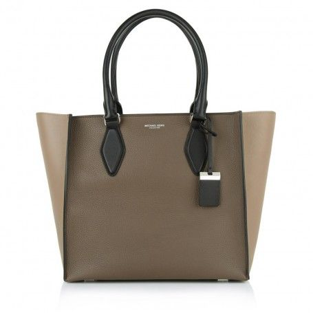 michael kors collection tasche gracie lg tote elephant dark taupe. Black Bedroom Furniture Sets. Home Design Ideas