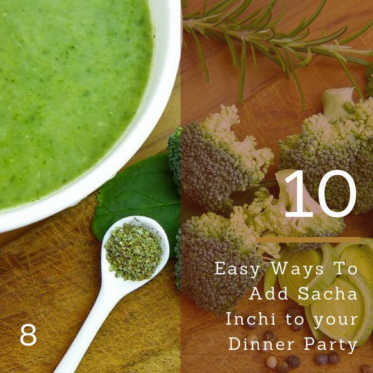 Soup with Sacha Inchi Oil is the best way to have a warming meal with the goodness of Omega 3,69