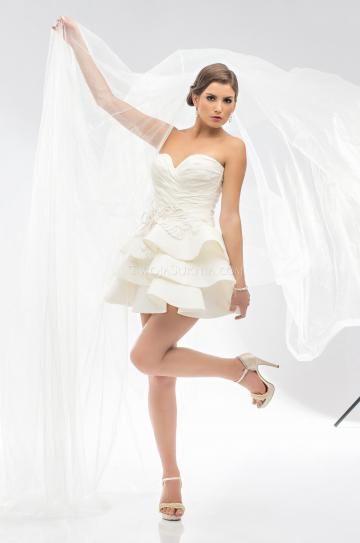 Hala Zip Empírové Svatební šaty 2013