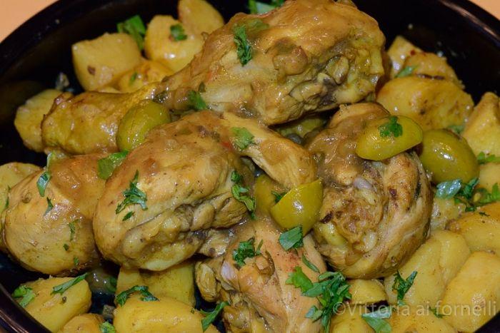 Pollo alla marocchina djaj mqualli - Ricette Blogger Riunite